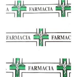CARTA BIANCA ST. FARMACIA GEN. 18X25