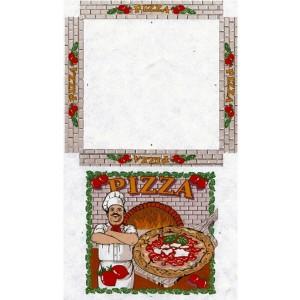 SCATOLA PIZZA PERSONALIZZ. 33X33 ITALIANA PZ.100