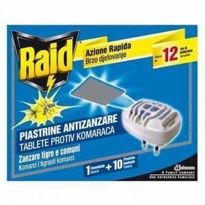 RAID FORNELLO + 10 PIASTRINE