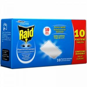 RAID PIASTRINE X 10 PZ