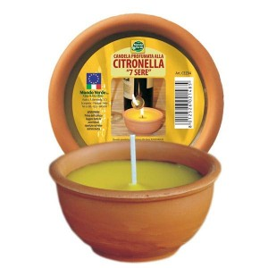CANDELA CITRONELLA COCCIO D. 9 CM.