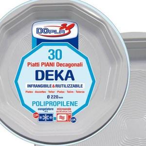 PIATTI DEKA DIAM. 220 PZ. 30
