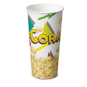 BICCHIERE POP CORN  700 ML. PZ. 50