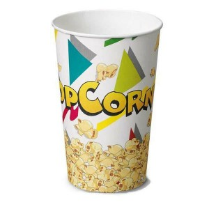 BICCHIERE POP CORN 1400 ML.  PZ.50