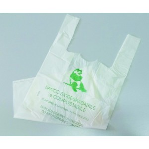 SHOPPER BIO COMPOST 23+13X41 PZ.500 UNI EN 13432:2002    (MINI)